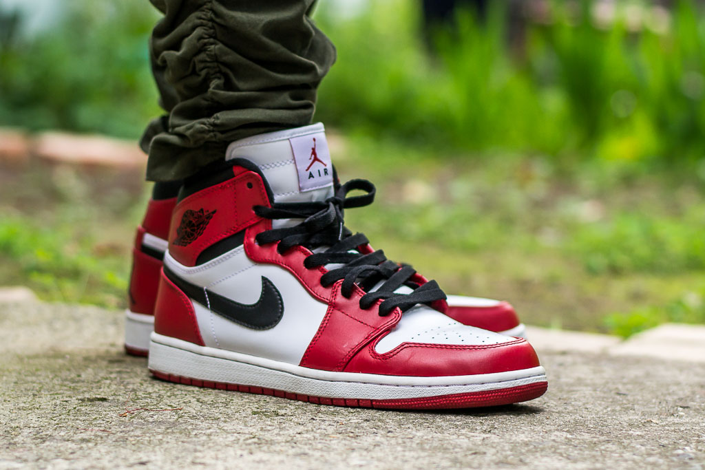 nouvelle arrivee 44be8 1188b Air Jordan 1 Retro High Chicago - On Feet Sneaker Review