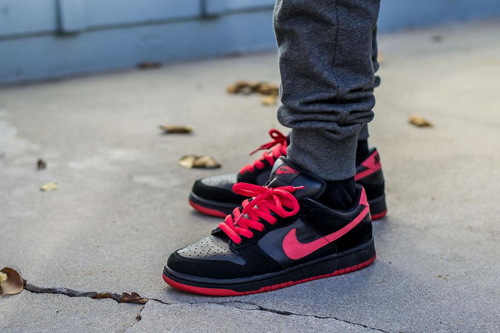 Nike Dunk Low SB Vamp On Feet Sneaker