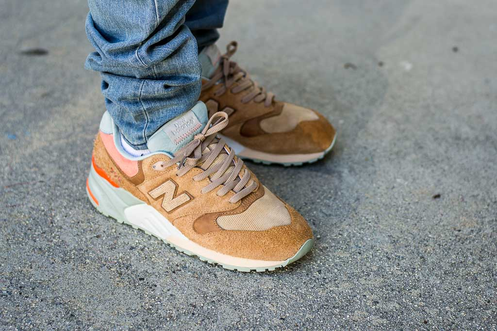 buy online 8d7cc ea222 Packer New Balance 999 Camel On Feet Sneaker Review