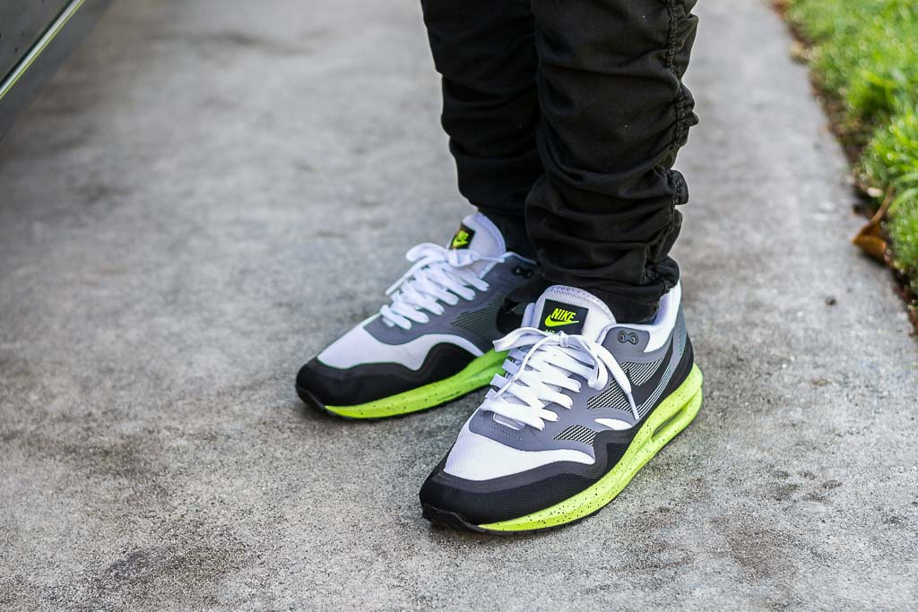Nike Air Max Lunar1 Volt On Feet Sneaker Review