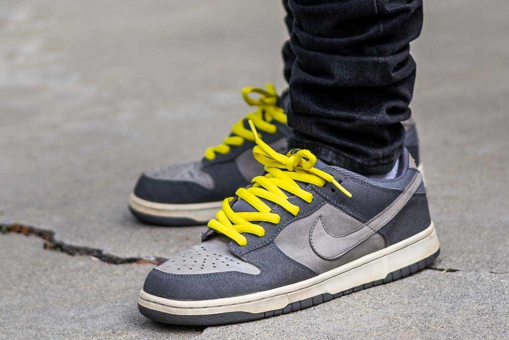 Nike Dunk Low Pro B Lightning On Feet
