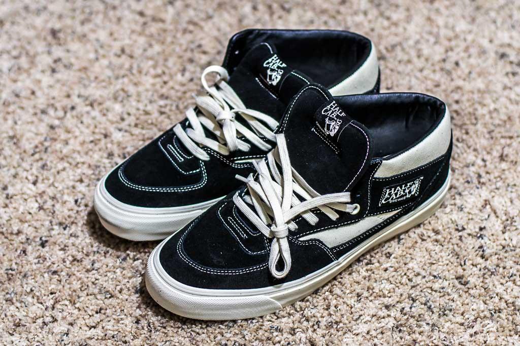 5448a5aaf9 Vans Vault OG Half Cab LX Black Marshmallow - Sneaker Pickup