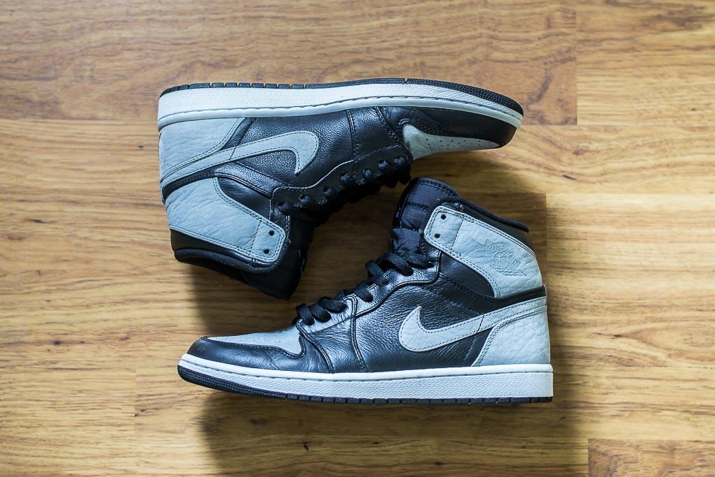 2009 Air Jordan 1 Shadow On Feet