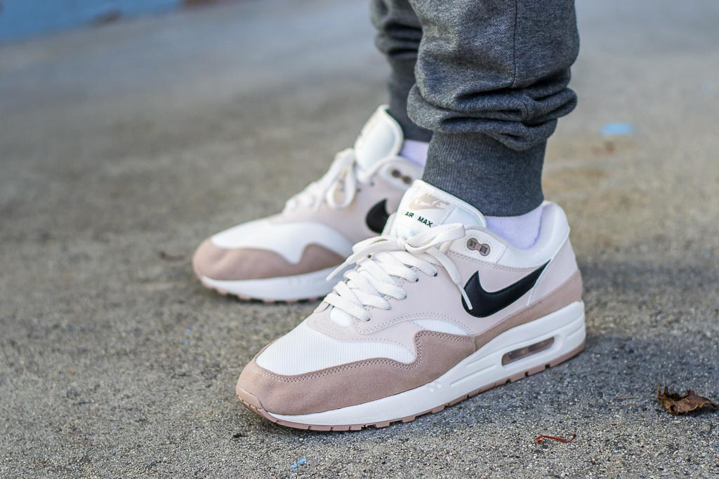 Nike Air Max 1 Desert Sand On Feet Sneaker Review d1a0ecc8f38e