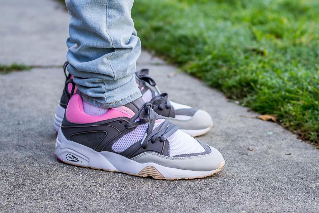info for 4cbb1 9ce99 Solebox x Puma Blaze of Glory Champagne Pack On Feet Sneaker Review