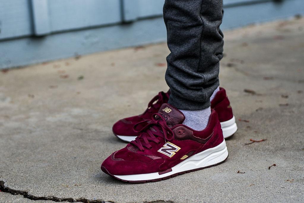 Ubiq x New Balance 1600 English Crown On Foot Sneaker Review dff14241e6