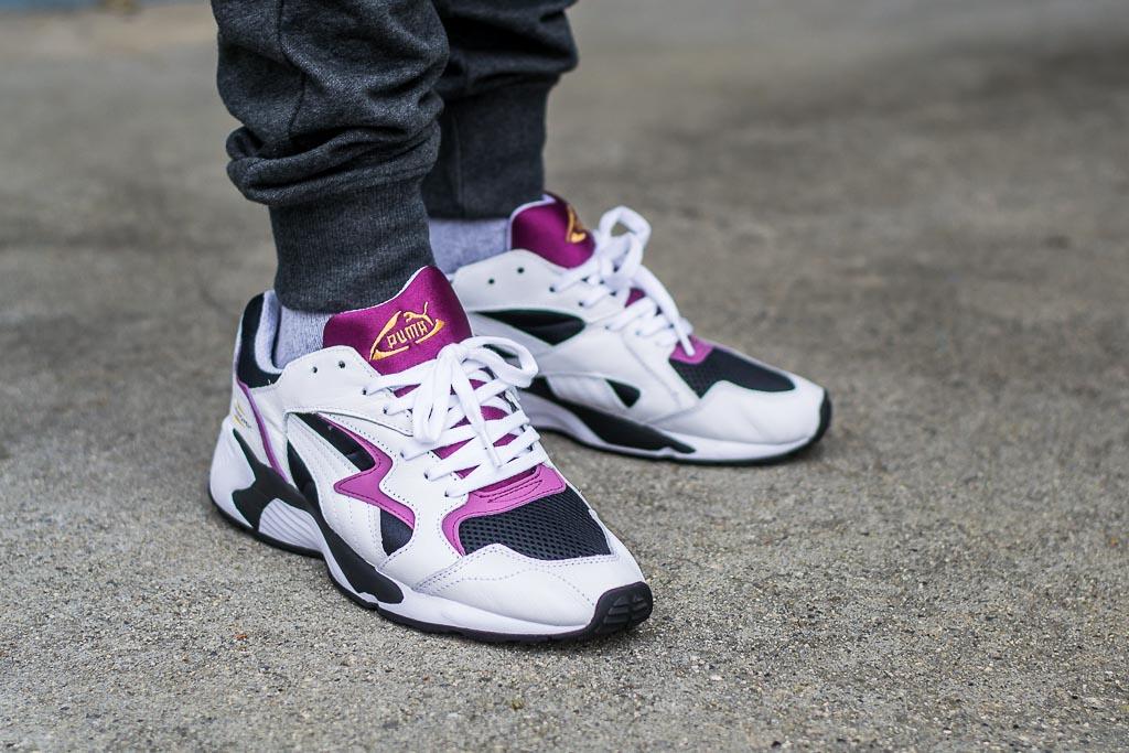 Puma Prevail OG Grape On Feet Sneaker Review 29c66008bd