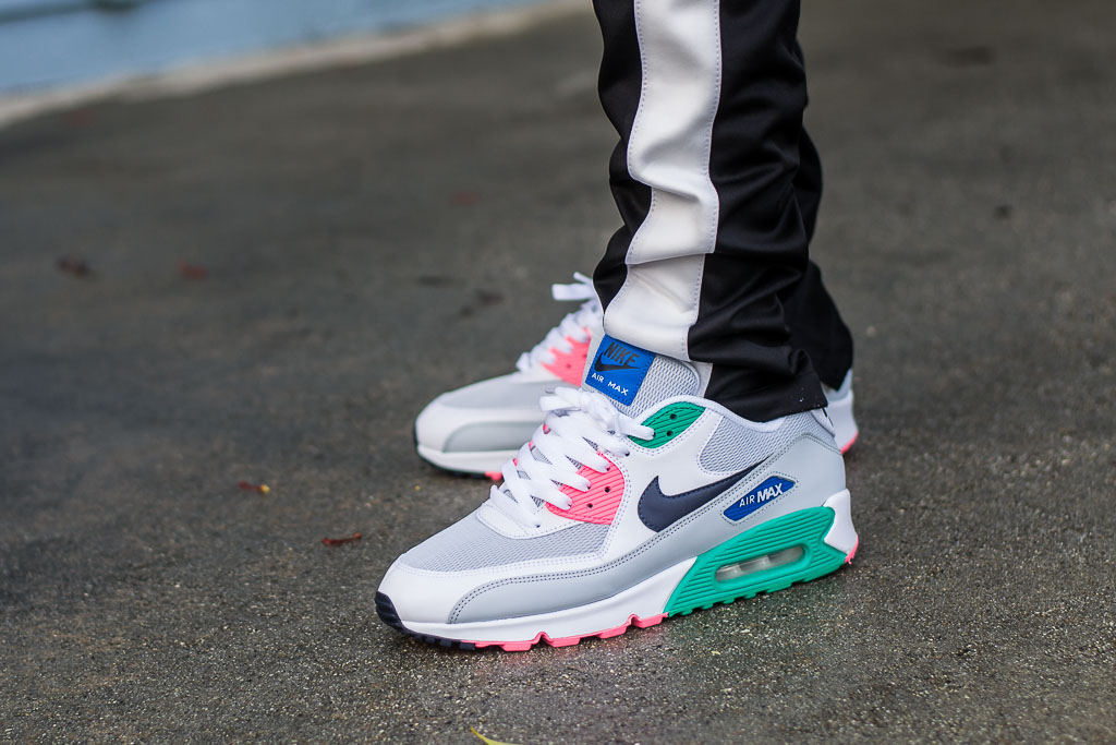 Nike Air Max 90 Essential Watermelon On Feet Sneaker Review