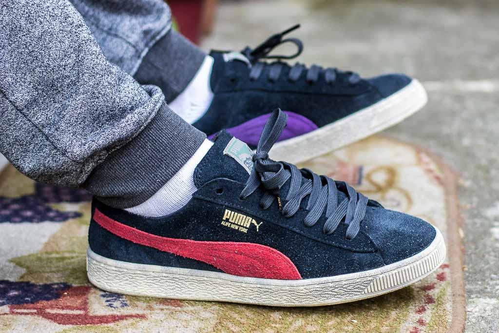 sale retailer 881f4 1268b Alife x Puma Suede Amazon   Black Sneaker Review