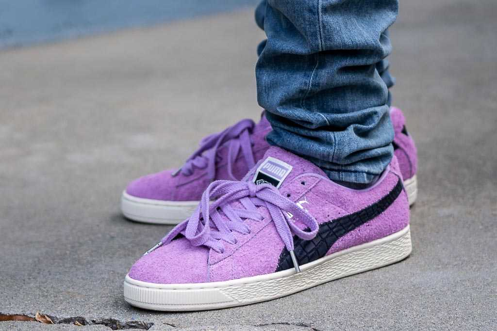 premium selection 9cb3b fdc85 Diamond Supply Co x Puma Suede Orchid Bloom Sneaker Review