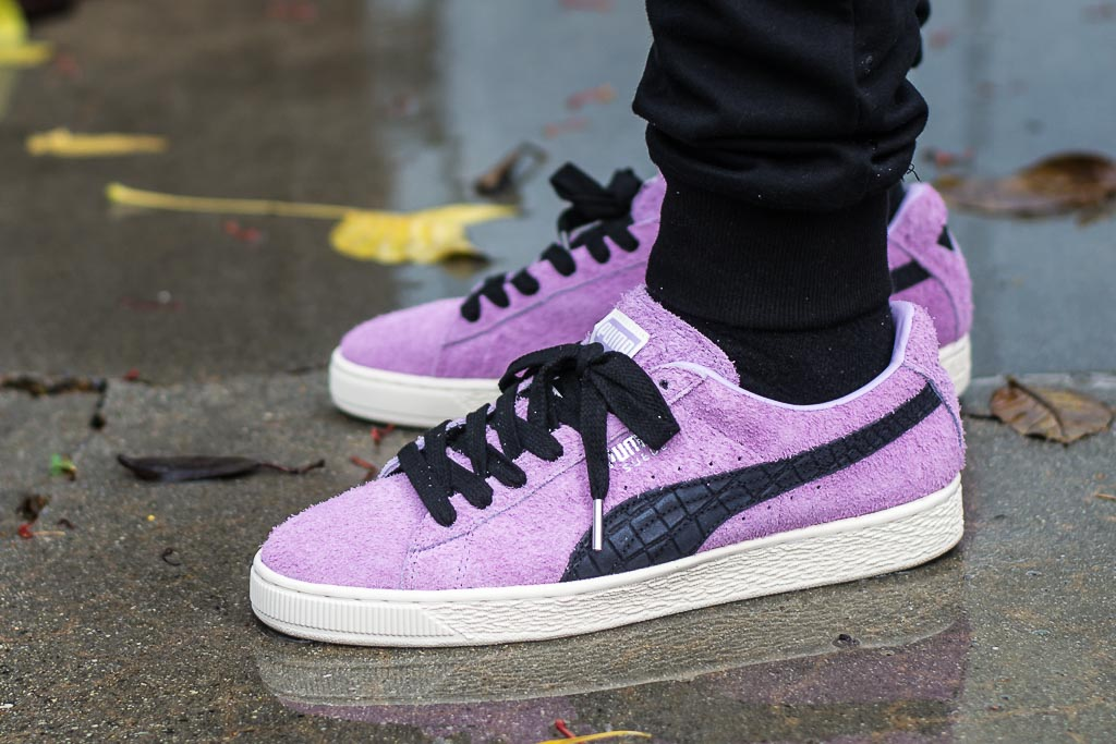 save off 3fd21 9e92b Diamond Supply Co x Puma Suede Orchid Bloom alt
