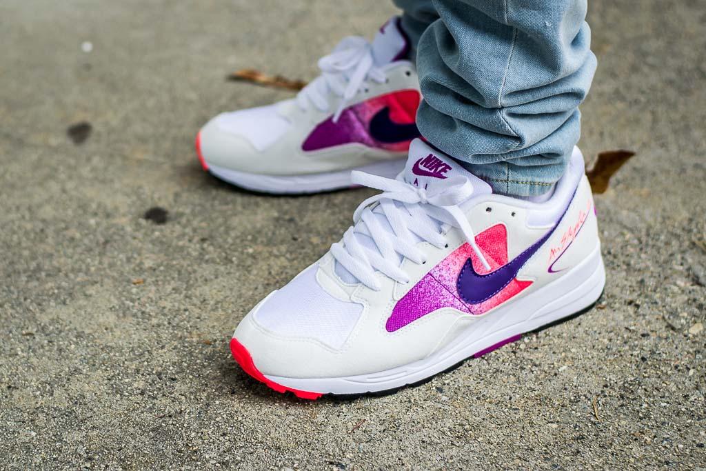 Hollywood tarjeta Adecuado  Nike Air Skylon II Solar Red On Feet Sneaker Review
