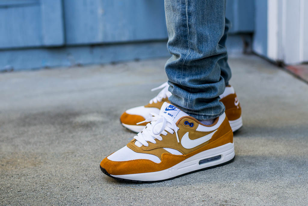 Nike Air Max 1 Curry On Feet Sneaker Review