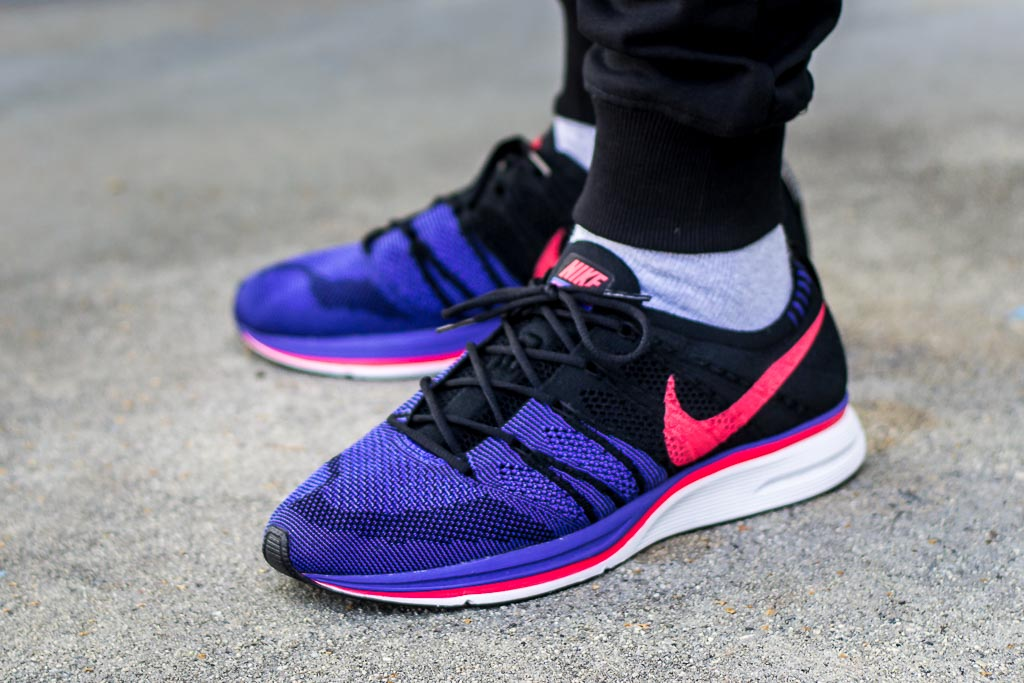 71529bf52cc59 Nike Flyknit Trainer Siren Red On Feet Sneaker Review