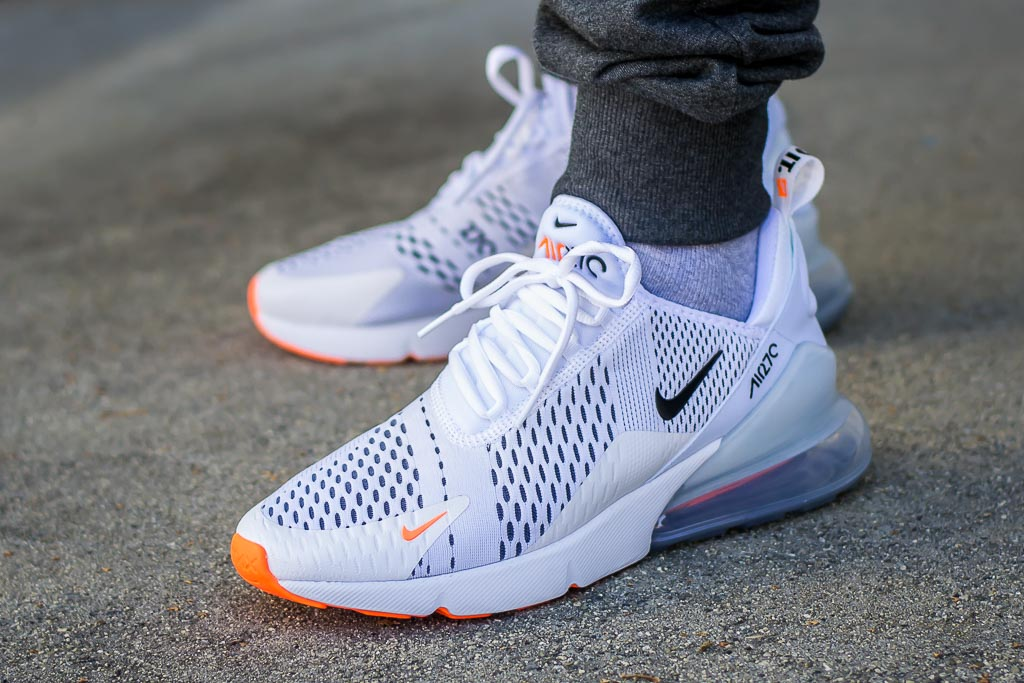 pretty nice 64e71 8dd5a Nike Air Max 270 Just Do It JDI On Feet Sneaker Review