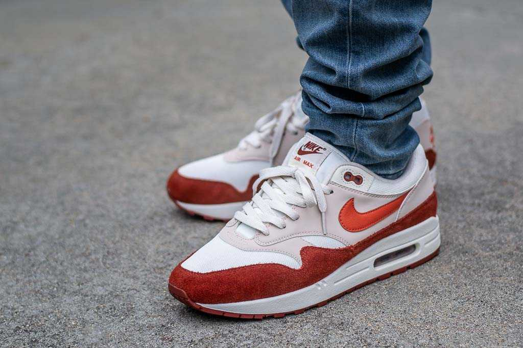 Nike Air Max 1 Mars Stone On Feet Sneaker Review
