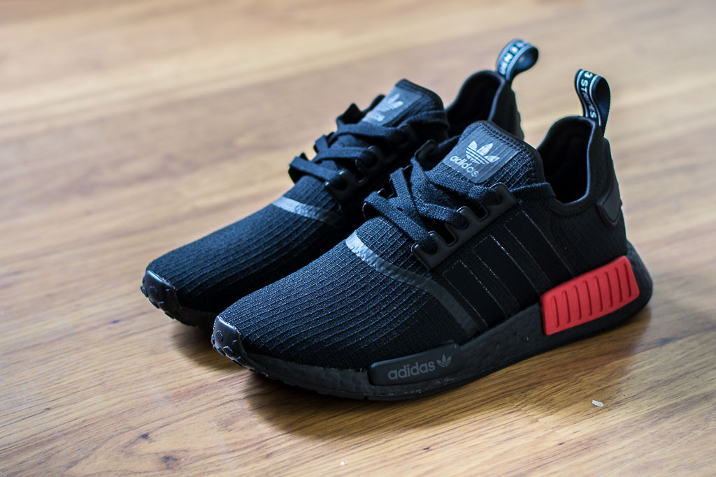 Adidas NMD R1 Bred Ripstop Pack On Feet Sneaker Review