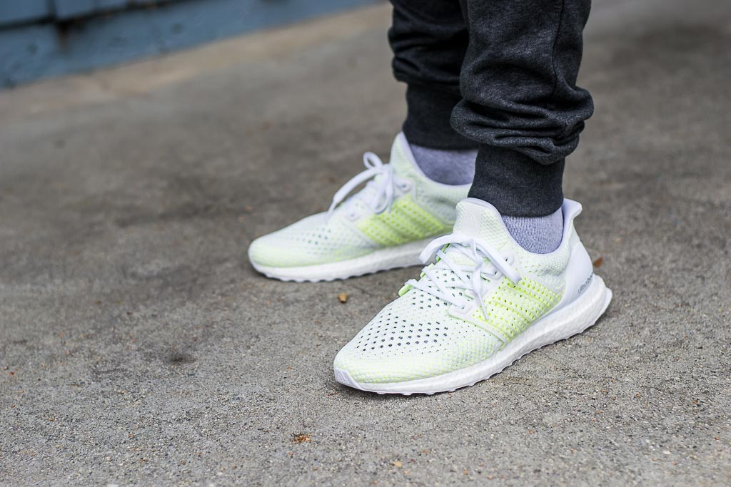 finest selection 4216e 4448b Adidas Ultraboost Clima Solar Yellow On Feet Sneaker Review