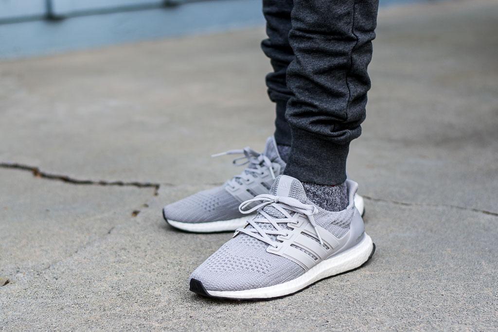 pretty nice 35c8c f3bca Adidas Ultraboost 4.0 Grey On Feet Sneaker Review