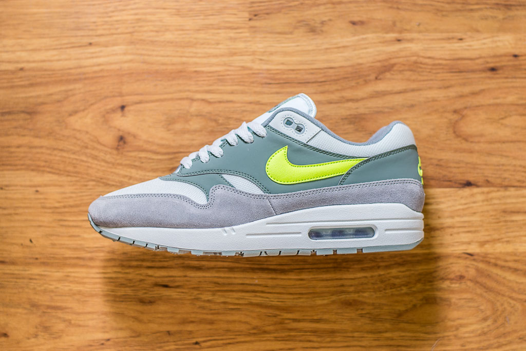 Nike Air Max 1 Mica Green Volt On Feet Sneaker Review