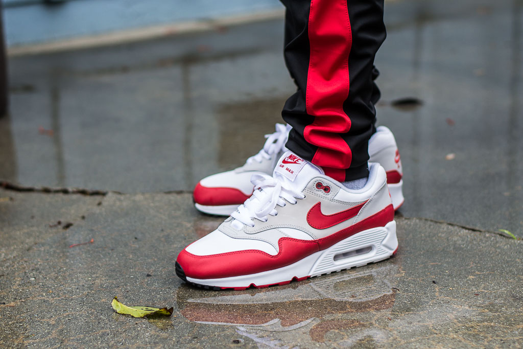 big sale 4dc1b e8926 Nike Air Max 90 1 University Red Outfit of the day
