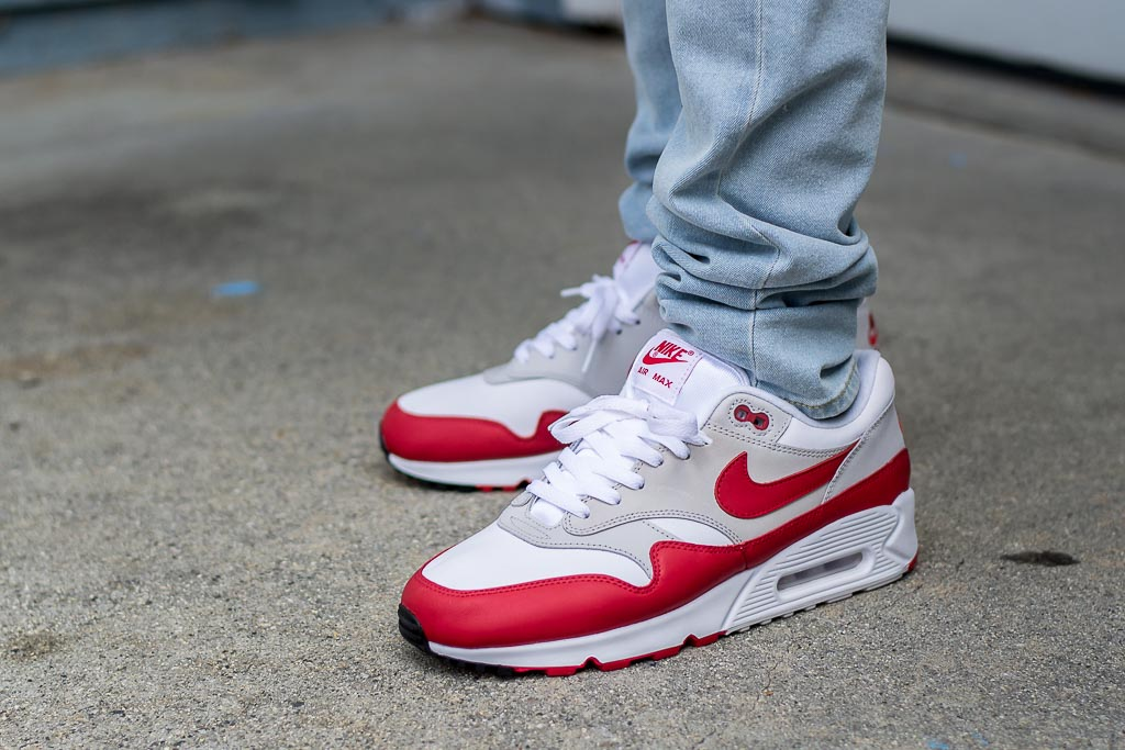 Nike Air Max 901 University Red On Feet Sneaker Review