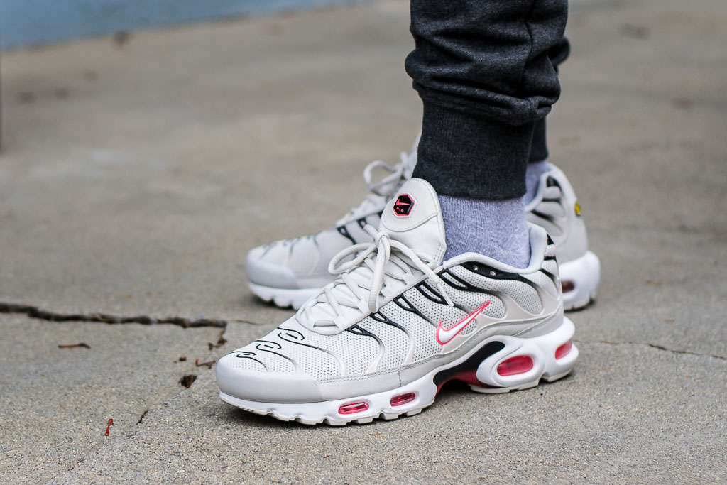 nike air max plus on feet