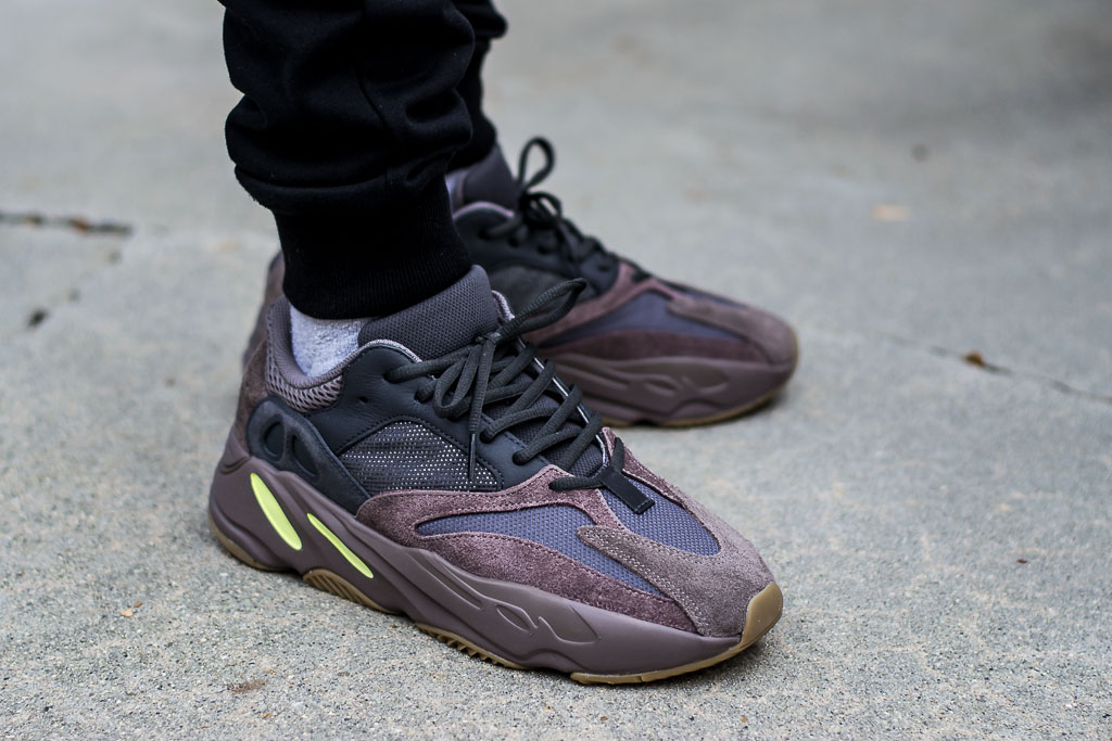c4e8ea4fd Adidas Yeezy Boost 700 Mauve On Feet Sneaker Review