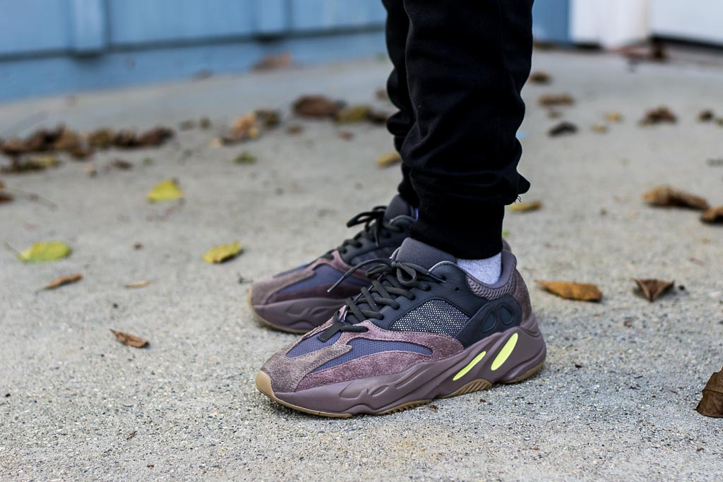 ed254d0495cab Adidas Yeezy Boost 700 Mauve On Feet Sneaker Review
