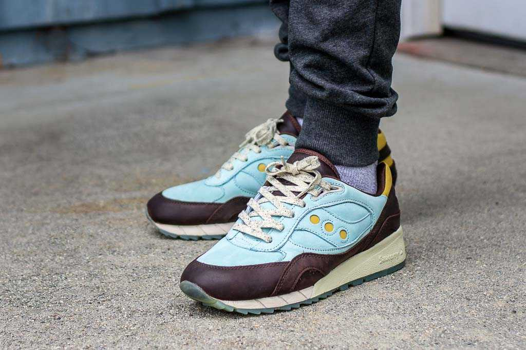 Saucony Shadow 6000 Oktoberfest On Feet Sneaker Review