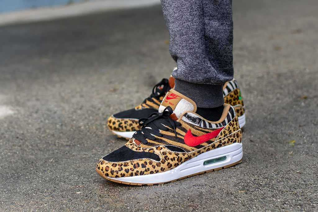 Atmos x Nike Air Max 1 Animal Pack 2.0 On Feet Sneaker Review