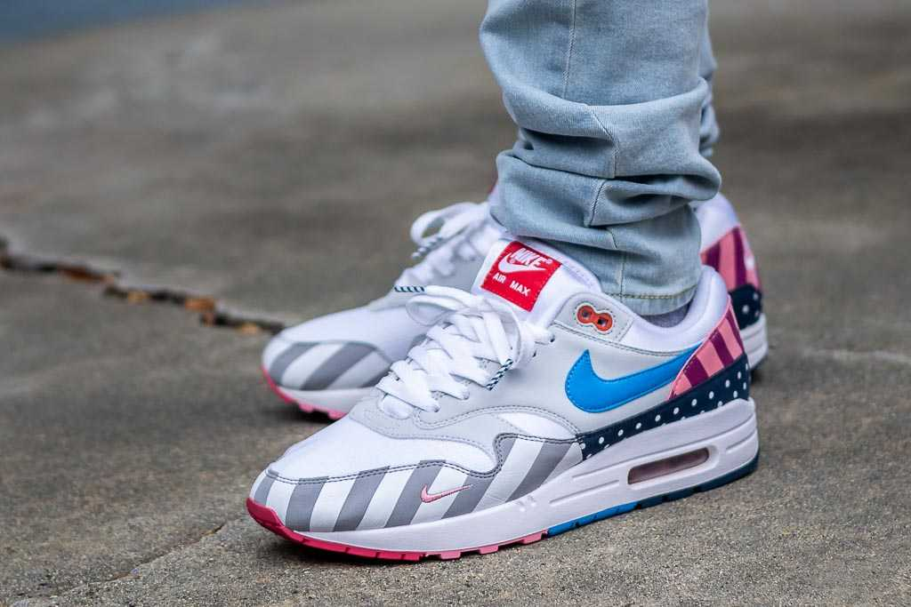 new concept 7a433 1cb59 Parra x Nike Air Max 1 On Feet Sneaker Review