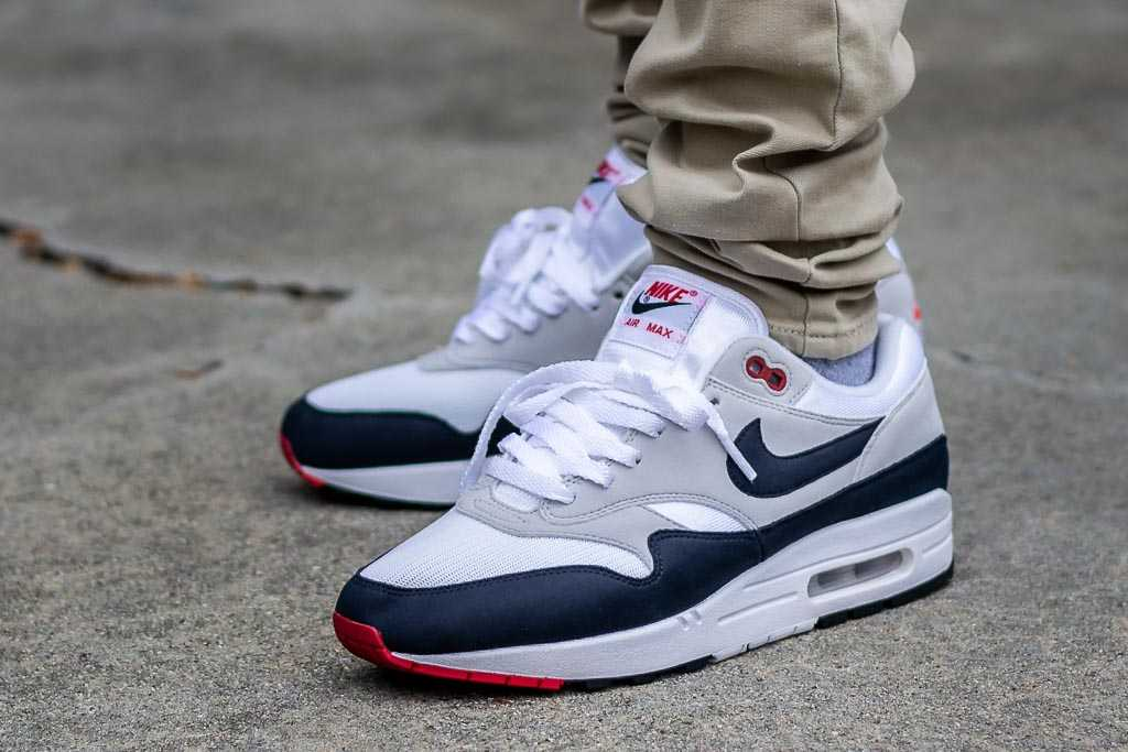 Nike Air Max 1 Anniversary Obsidian On Feet Sneaker Review