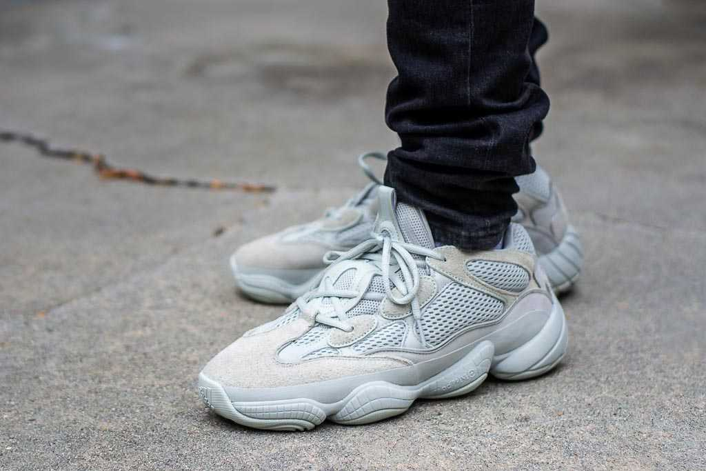 separation shoes c6926 13892 Adidas Yeezy 500 Salt On Feet Sneaker Review