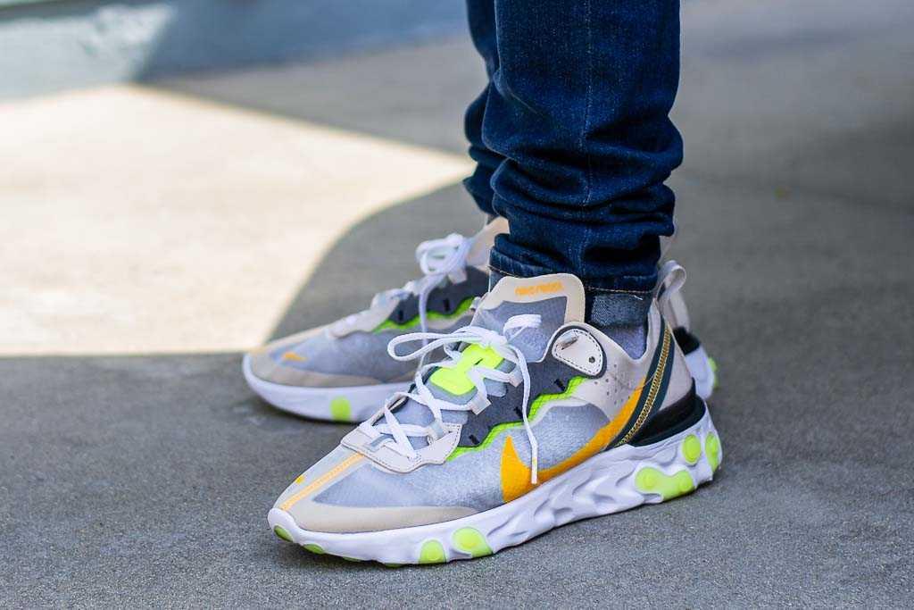 Dureza globo Fontanero  Nike React Element 87 Light Orewood On Feet Sneaker Review