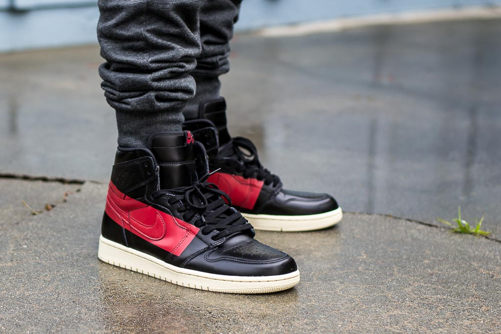 newest 49536 94047 Air Jordan 1 Defiant Couture On Feet on foot photo