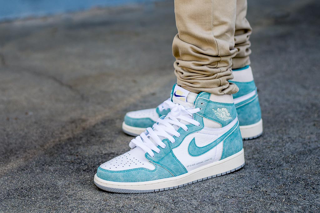 087ad8dbe35 Air Jordan 1 Turbo Green On Feet Sneaker Review