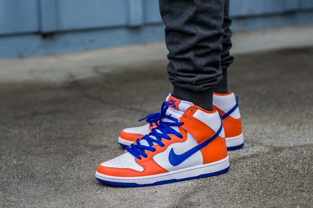 best sneakers 4ca26 d2660 Nike Dunk High SB Supa On Feet on foot photo