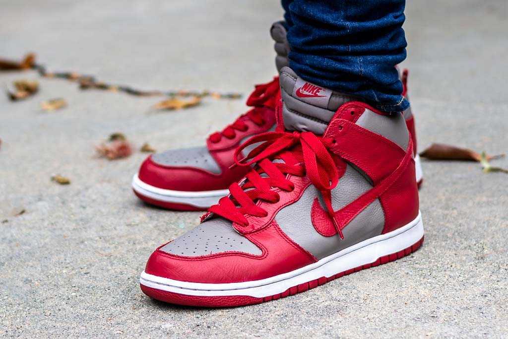 Nike Dunk High UNLV Be True On Feet