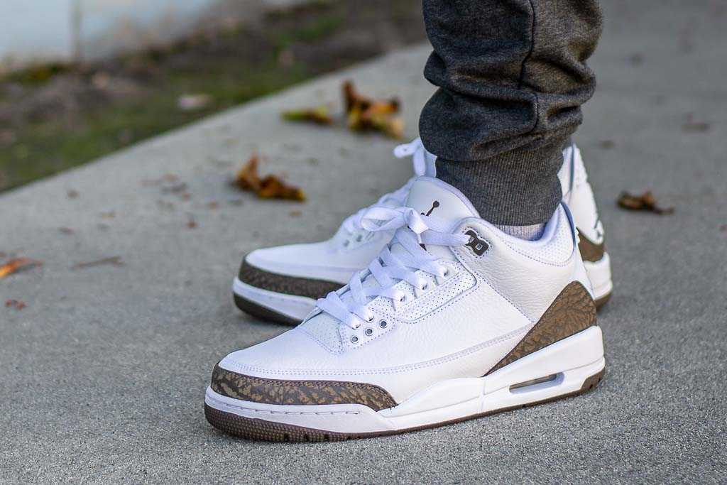 size 40 1db4b a14b2 Air Jordan 3 Mocha On Feet on foot photo