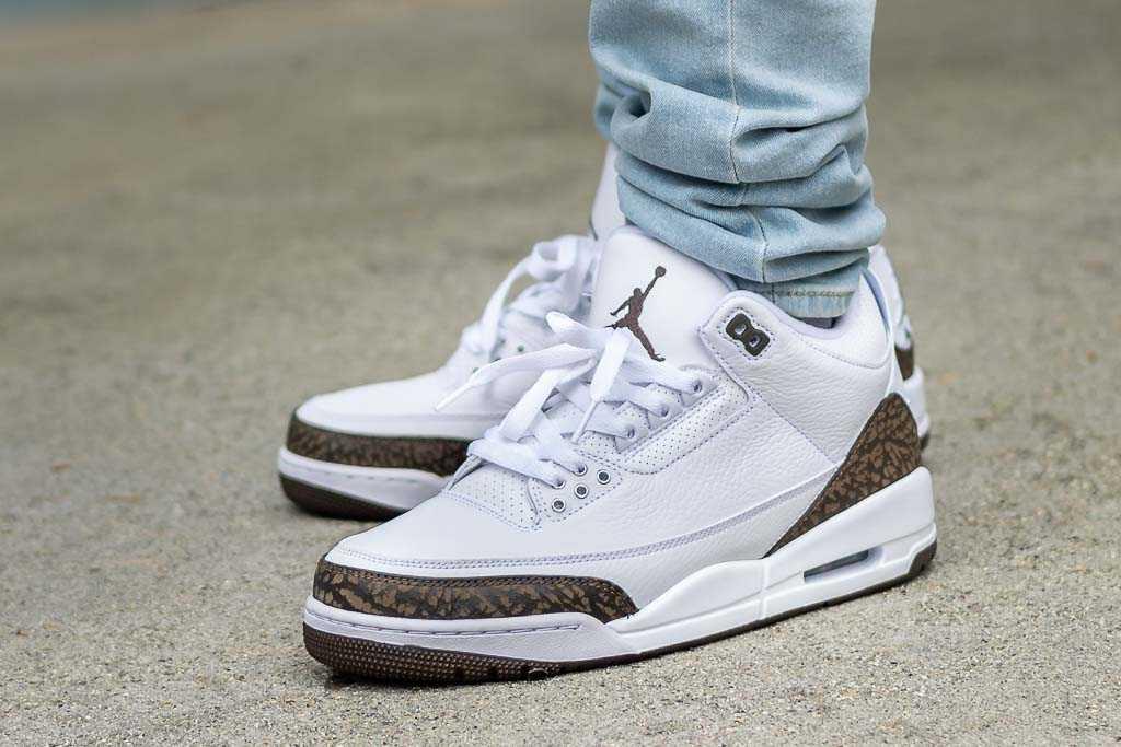 Air Jordan 3 Mocha On Feet Sneaker Review