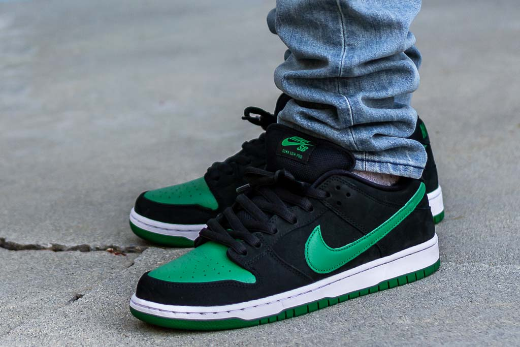 Nike SB Dunk Low Pine Green On Feet Review