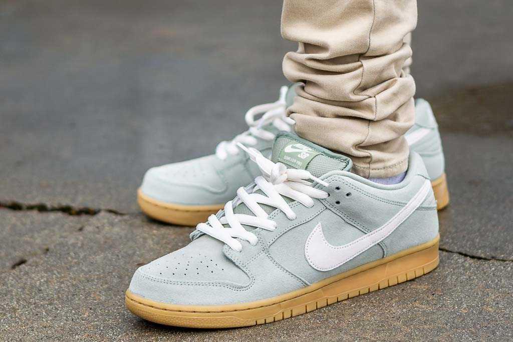 Nike SB Dunk Low Jade Horizon On Feet
