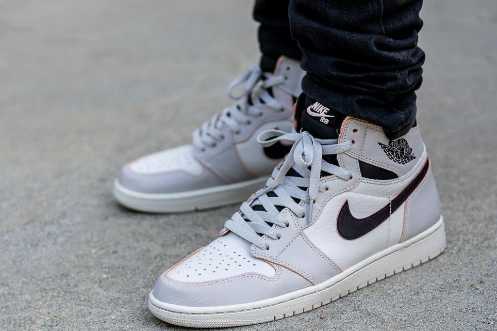Eficacia Dificil Dispuesto  Air Jordan 1 x Nike SB Defiant NYC To Paris On Feet Review