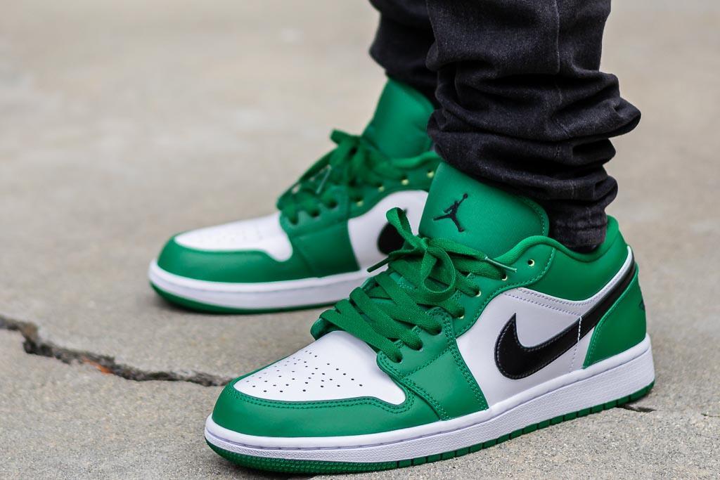 jordan 1 low green
