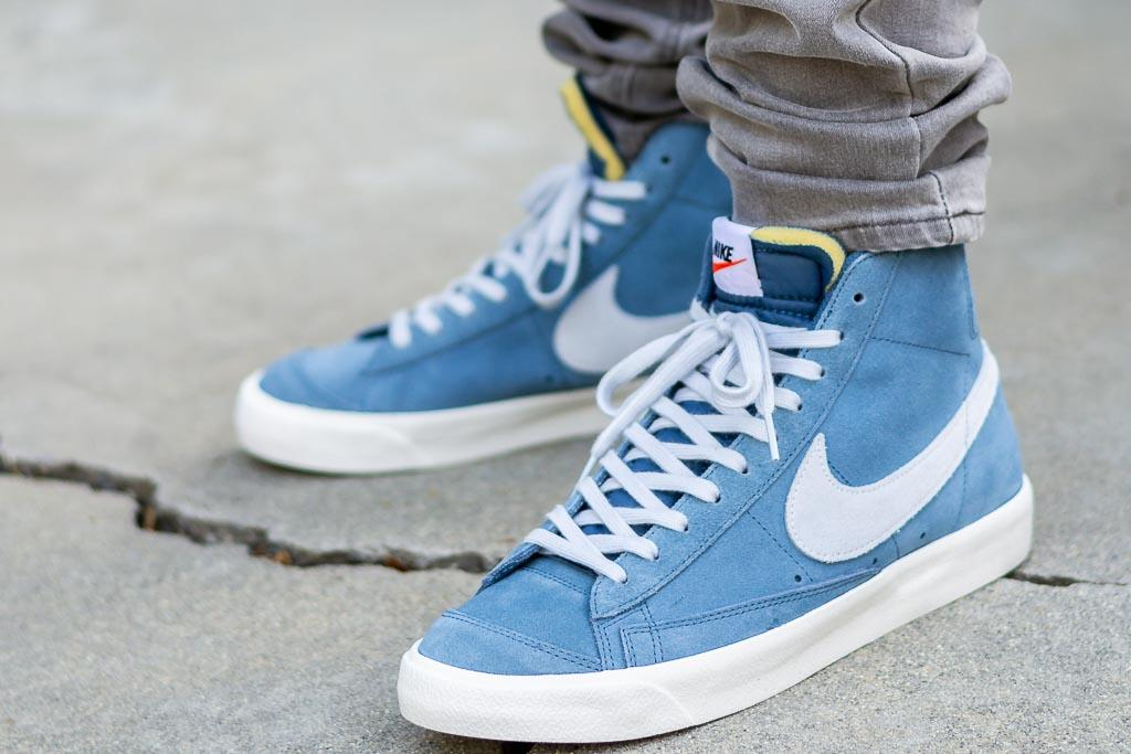 fenómeno Soldado Chaleco  Nike Blazer Mid 77 Suede On Feet Review