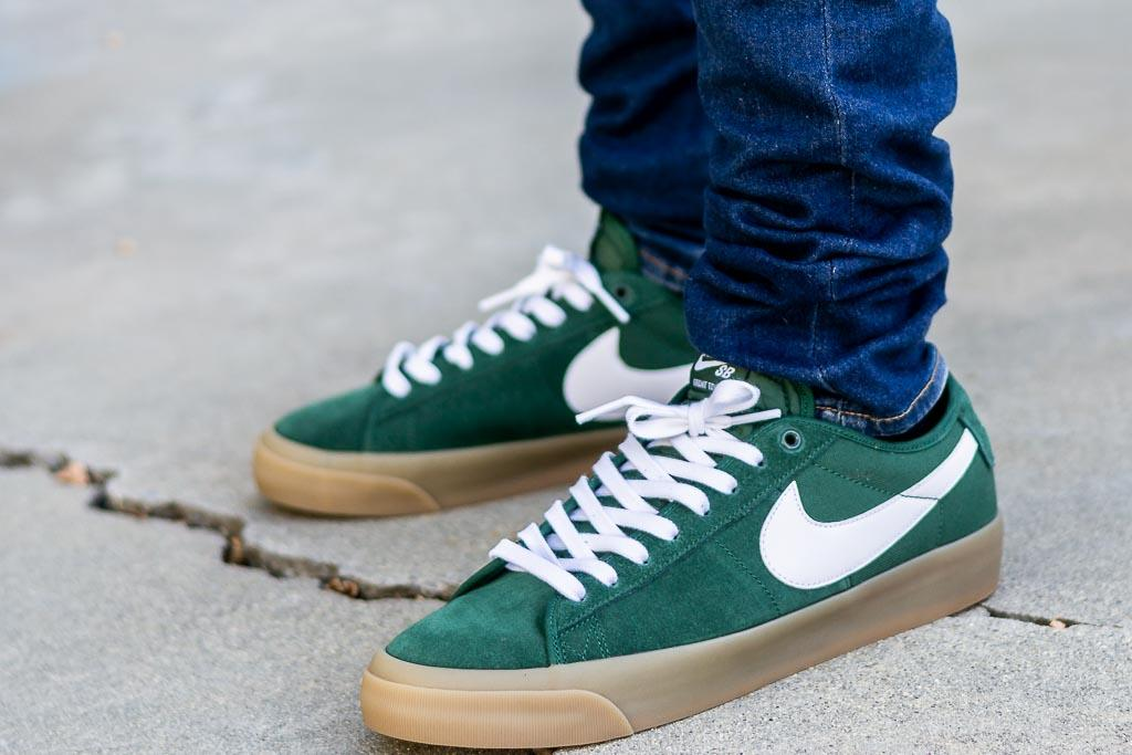 Nike SB Blazer Low GT Fir On Feet Review